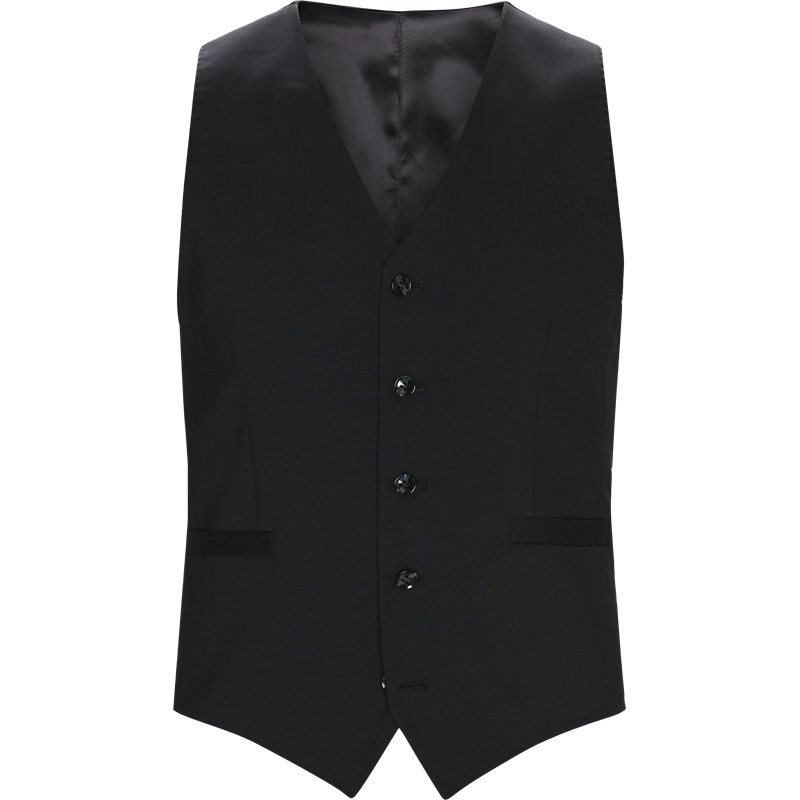 tiger of sweden Tiger of sweden slim 56431 litt waistcoat veste black på axel.dk