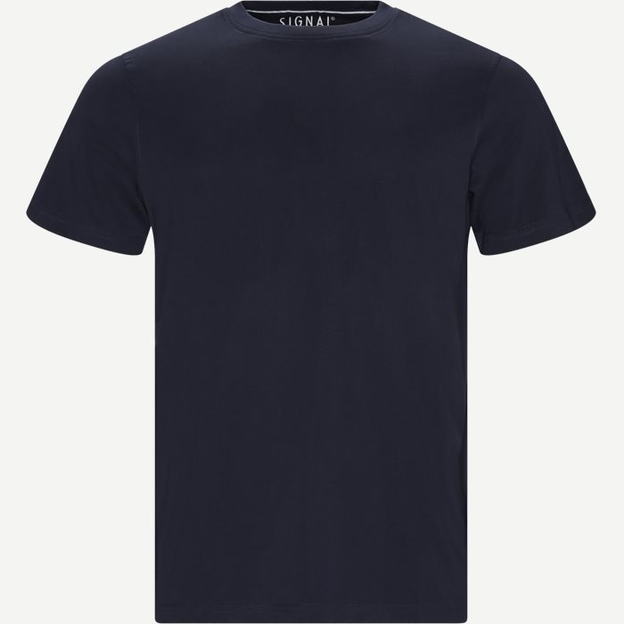 Walther Tee - T-shirts - Regular - Blå