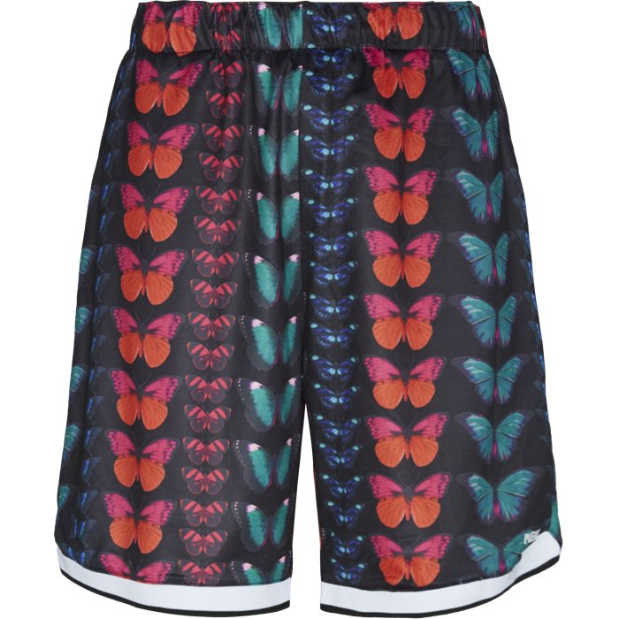 Butterfly Shorts - Shorts - Regular - Sort