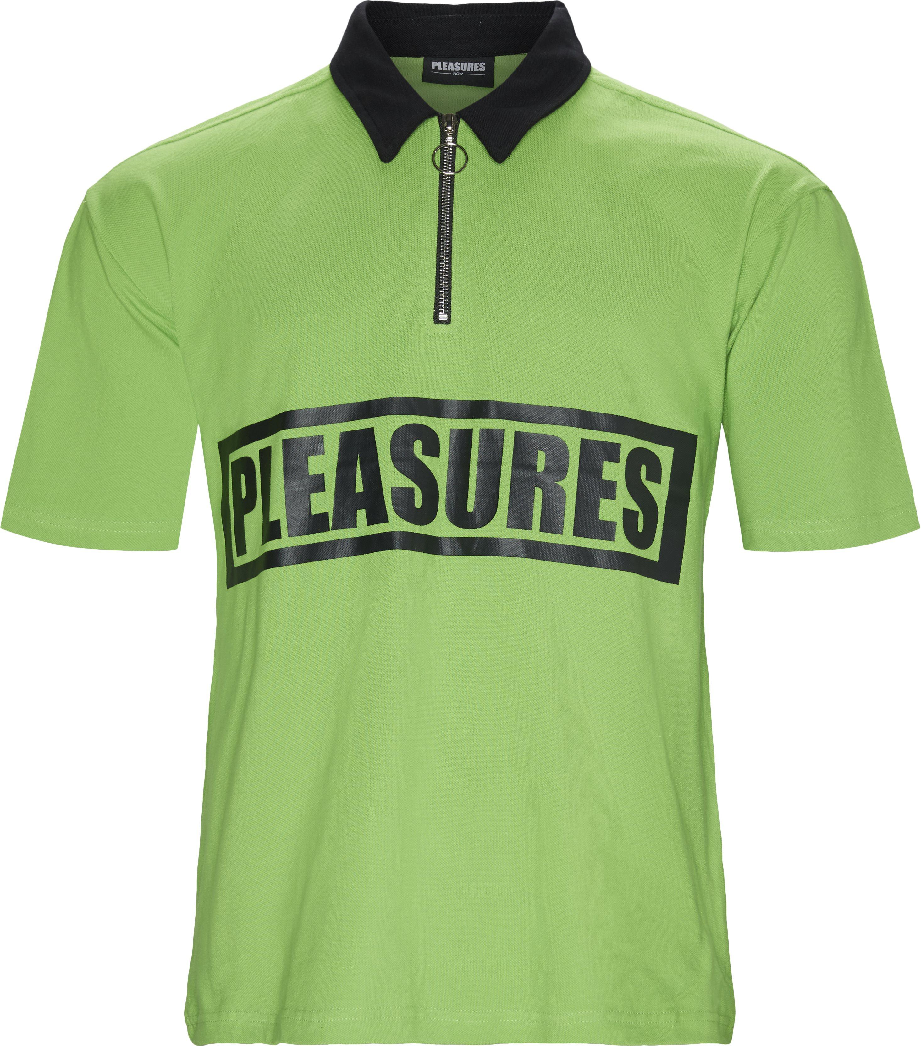 T-shirts - Loose - Grön