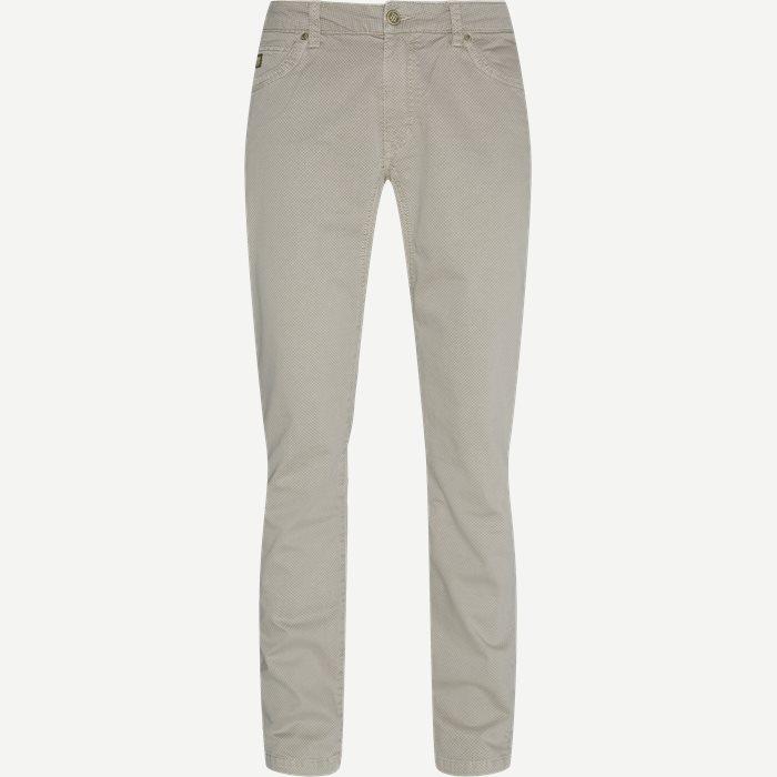 5-PKT Zephir Print Jeans - Jeans - Regular - Sand