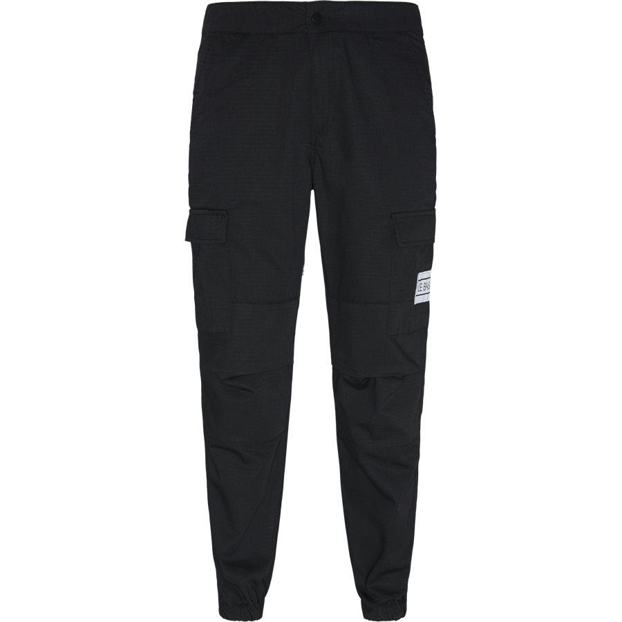 CARGO - Cargo Pants - Bukser - Regular - SORT - 1