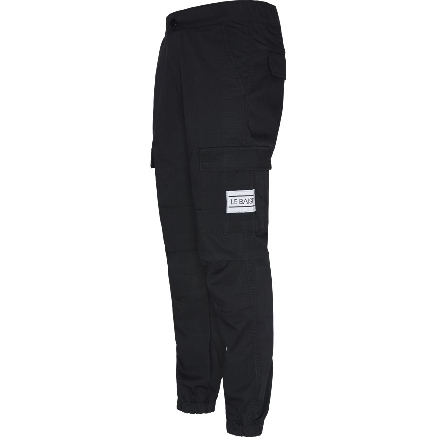 CARGO - Cargo Pants - Bukser - Regular - SORT - 3