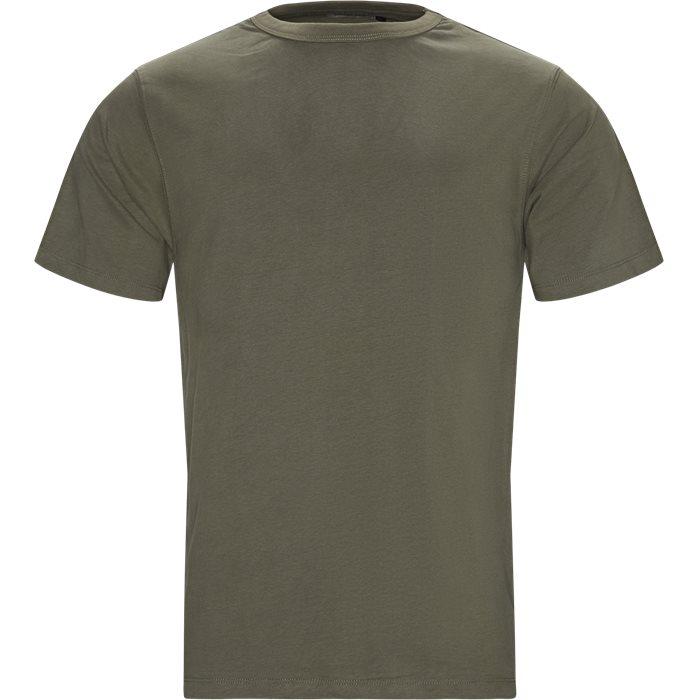 Steve T-shirt - T-shirts - Regular - Army