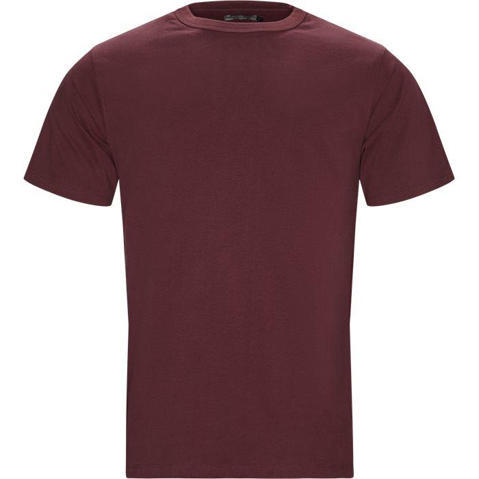 Steve T-shirt - T-shirts - Regular - Bordeaux