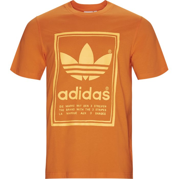 Vintage Tee - T-shirts - Regular - Orange