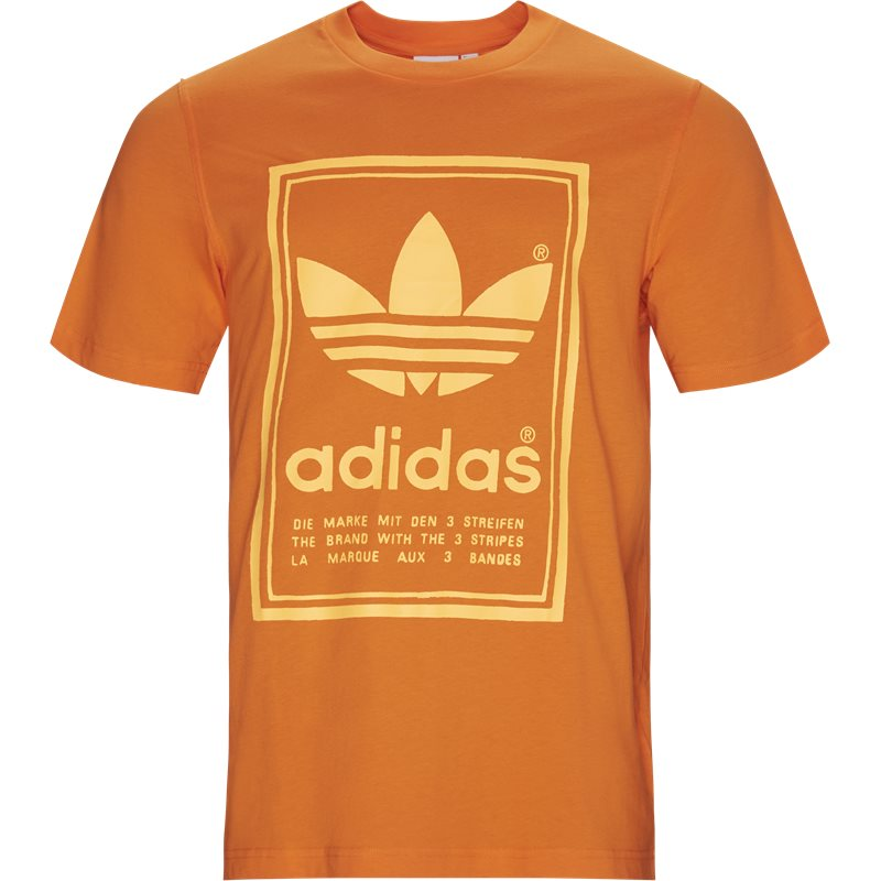 Image of   Adidas Originals Vintage Tee Orange