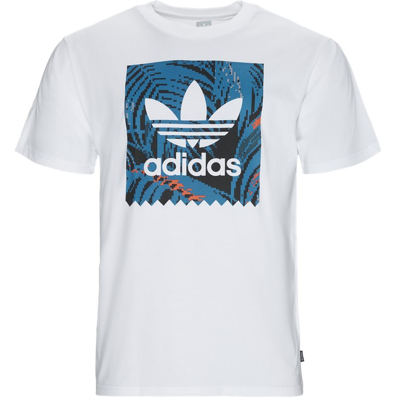 Image of Adidas Originals Bb Print Tee 2 Hvid