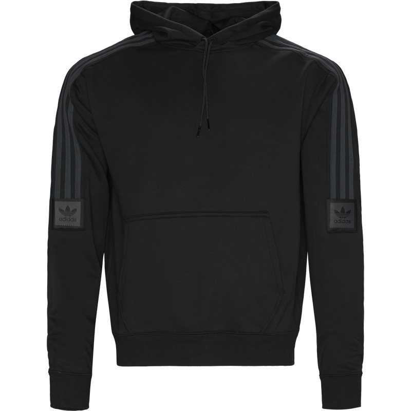 Image of   Adidas Originals Tech Hood Sweatshirt Sort