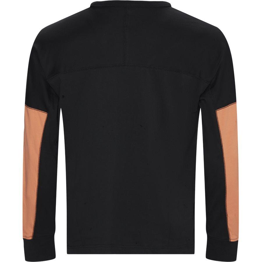 VOCAL ED7149 - R.Y.V. BLKD LS Tee - T-shirts - Regular - SORT - 2