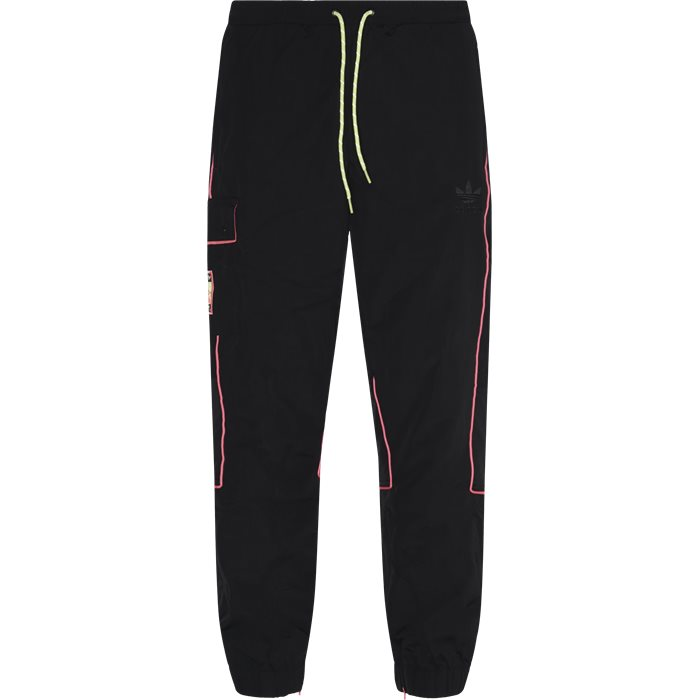 Track Pant - Bukser - Regular - Sort