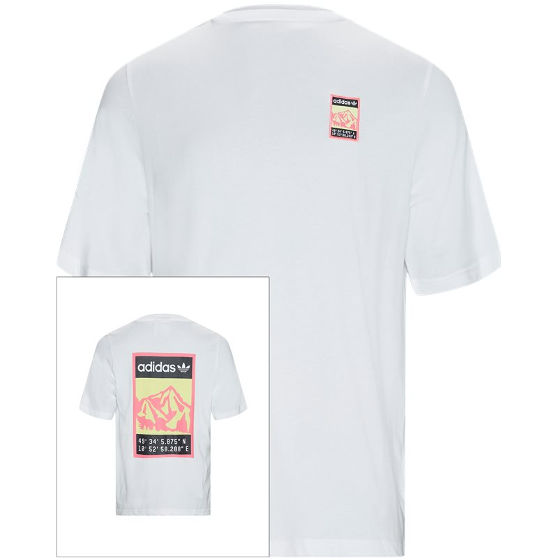 Image of   Adidas Originals Graphic Tee Hvid
