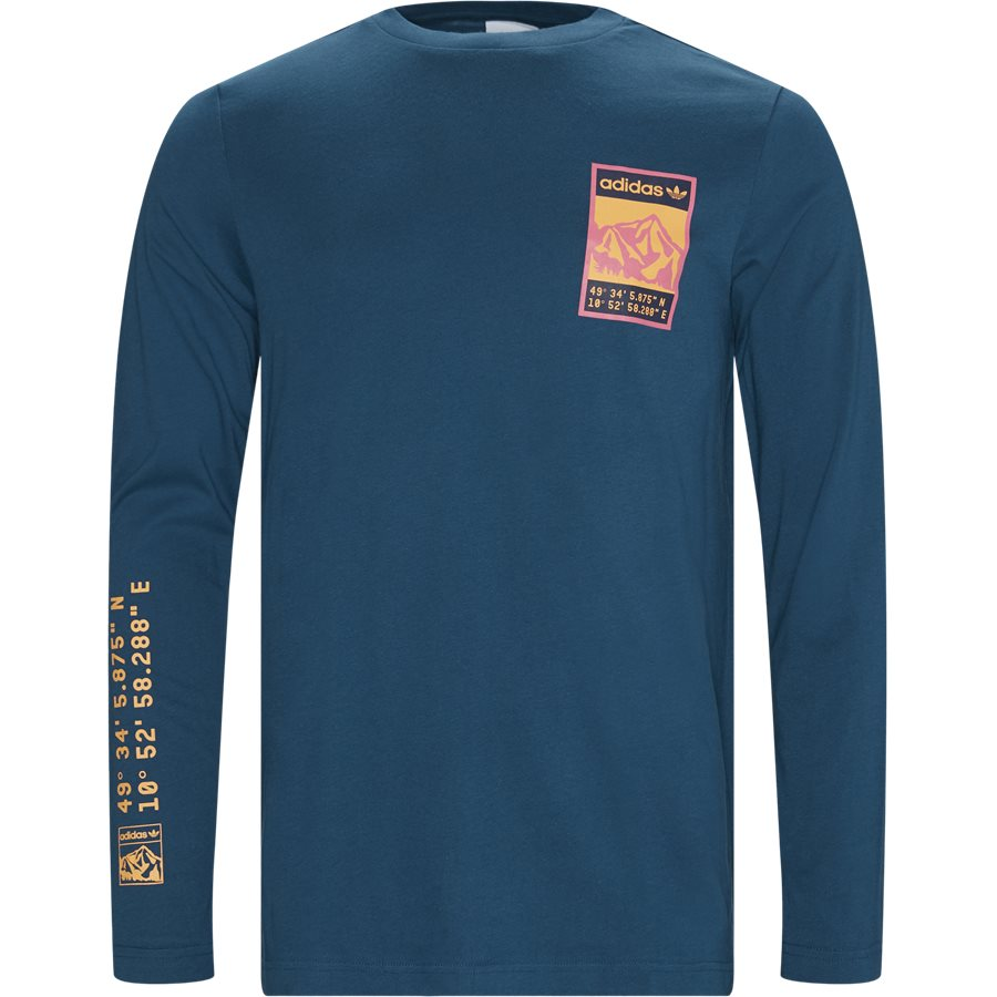 LONGSLEEVE FR0587 - Longsleeve Tee - T-shirts - Regular - PETROL - 1