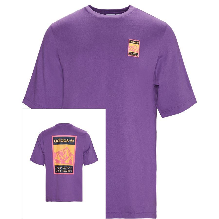 GRAPHIC TEE FR0590 - Graphic Tee - T-shirts - Regular - LILLA - 1