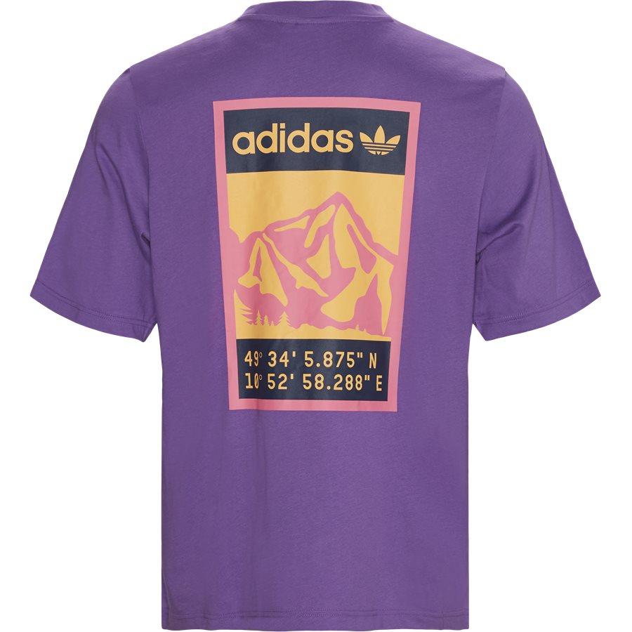 GRAPHIC TEE FR0590 - Graphic Tee - T-shirts - Regular - LILLA - 3
