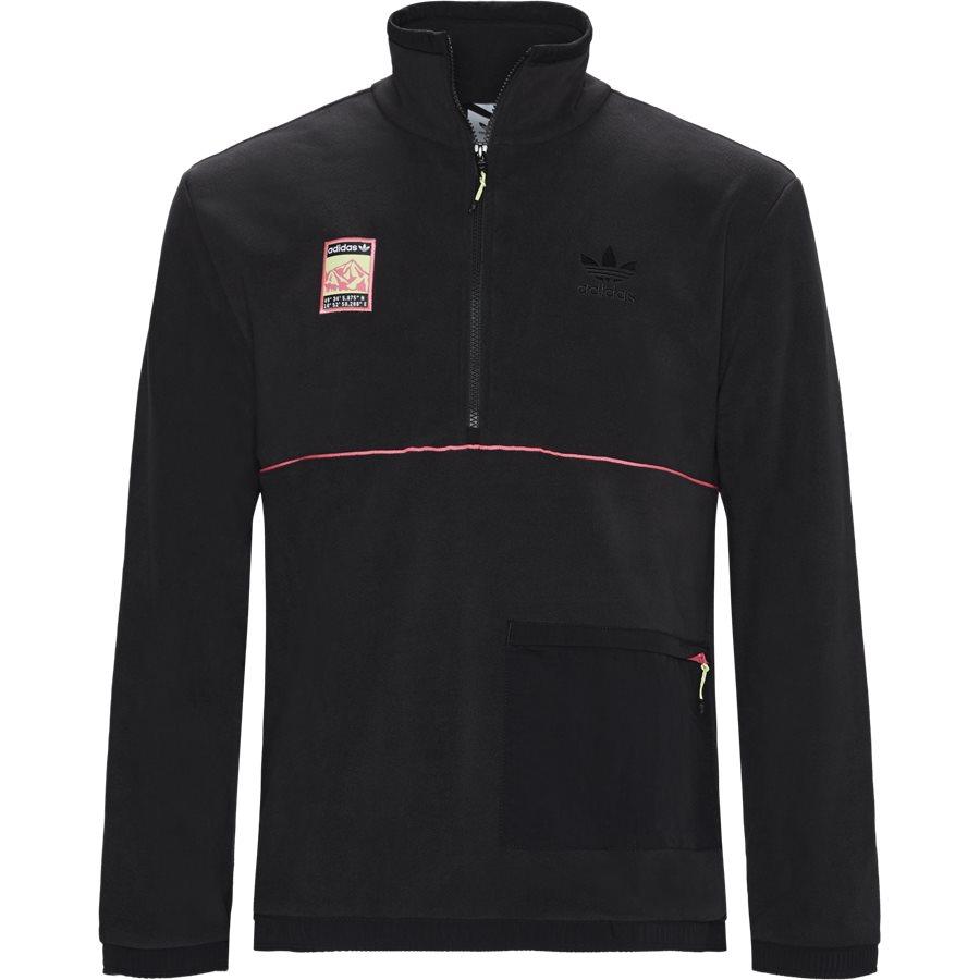 POLAR TOP FR0599 - Polar Top Sweatshirt - Sweatshirts - Regular - SORT - 1