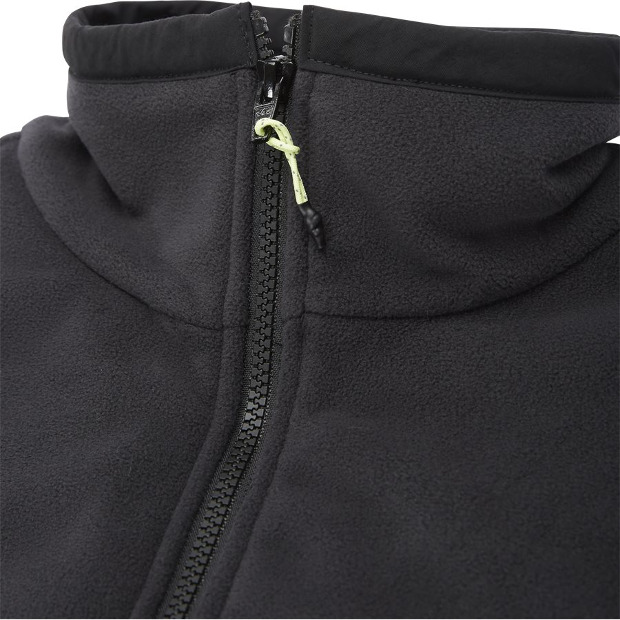 POLAR TOP FR0599 - Polar Top Sweatshirt - Sweatshirts - Regular - SORT - 5