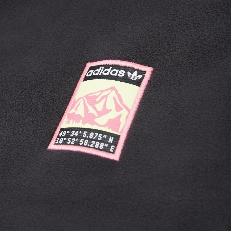 POLAR TOP FR0599 - Polar Top Sweatshirt - Sweatshirts - Regular - SORT - 6