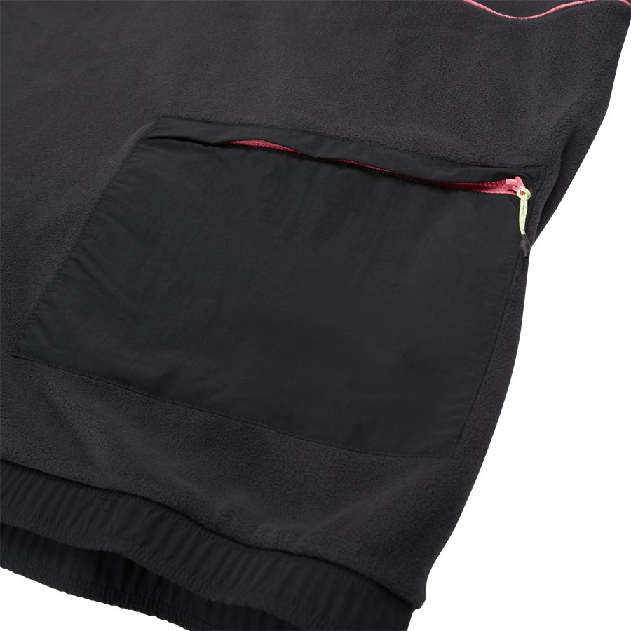 POLAR TOP FR0599 - Polar Top Sweatshirt - Sweatshirts - Regular - SORT - 7