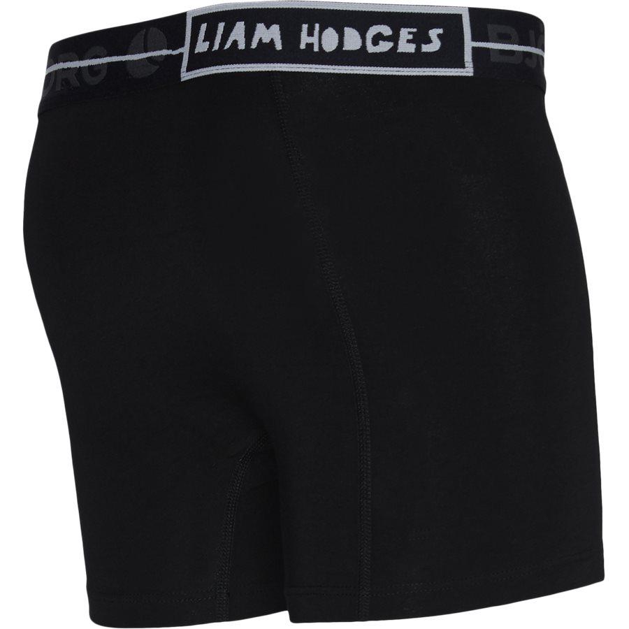 1931-1892 71001 - 2-Pack Core Shorts - Undertøj - SORT/BLÅ - 7