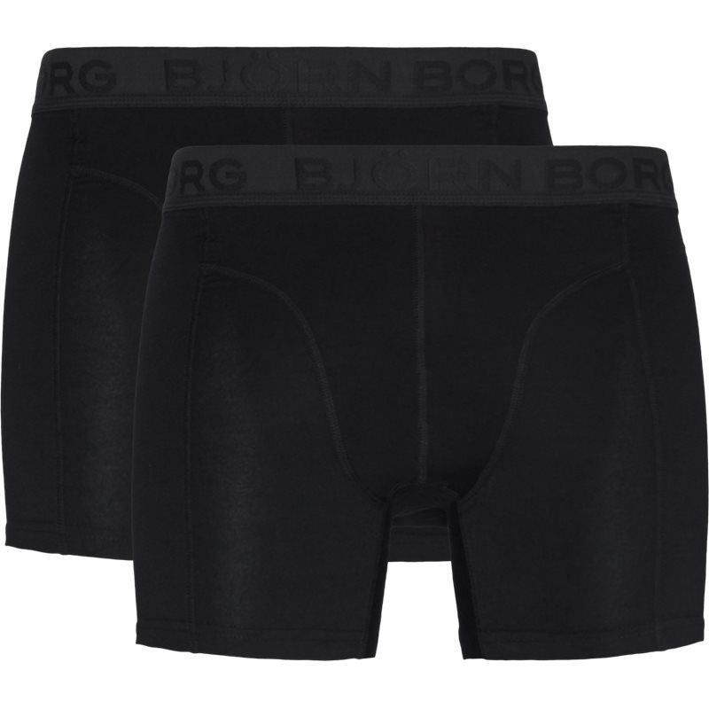 Image of   Björn Borg 2-pack Core Shorts Sort/sort