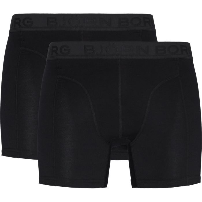 2-Pack Core Shorts - Undertøj - Sort