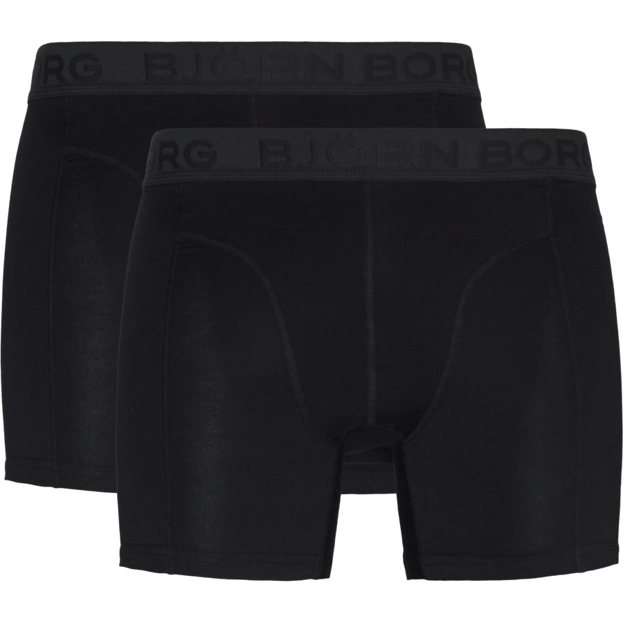 1931-1805 90651 - 2-Pack Core Shorts - Undertøj - SORT/SORT - 1