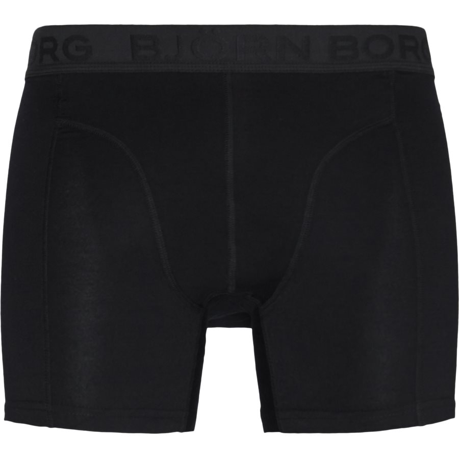 1931-1805 90651 - 2-Pack Core Shorts - Undertøj - SORT/SORT - 2