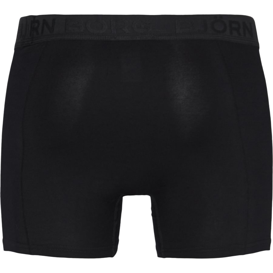 1931-1805 90651 - 2-Pack Core Shorts - Undertøj - SORT/SORT - 3