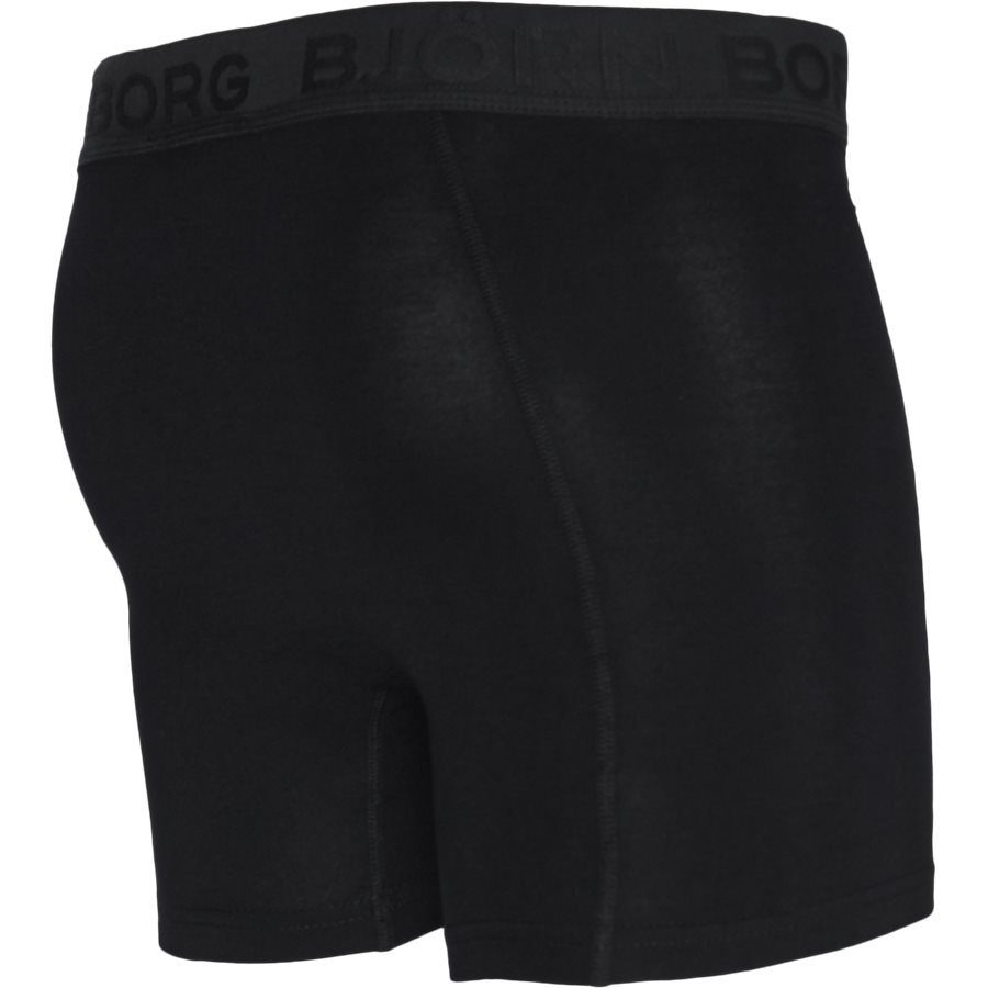 1931-1805 90651 - 2-Pack Core Shorts - Undertøj - SORT/SORT - 4