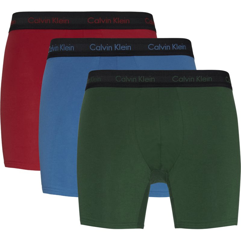 Billede af Calvin Klein 3-pack Boxer Briefs Rød/blå/grøn