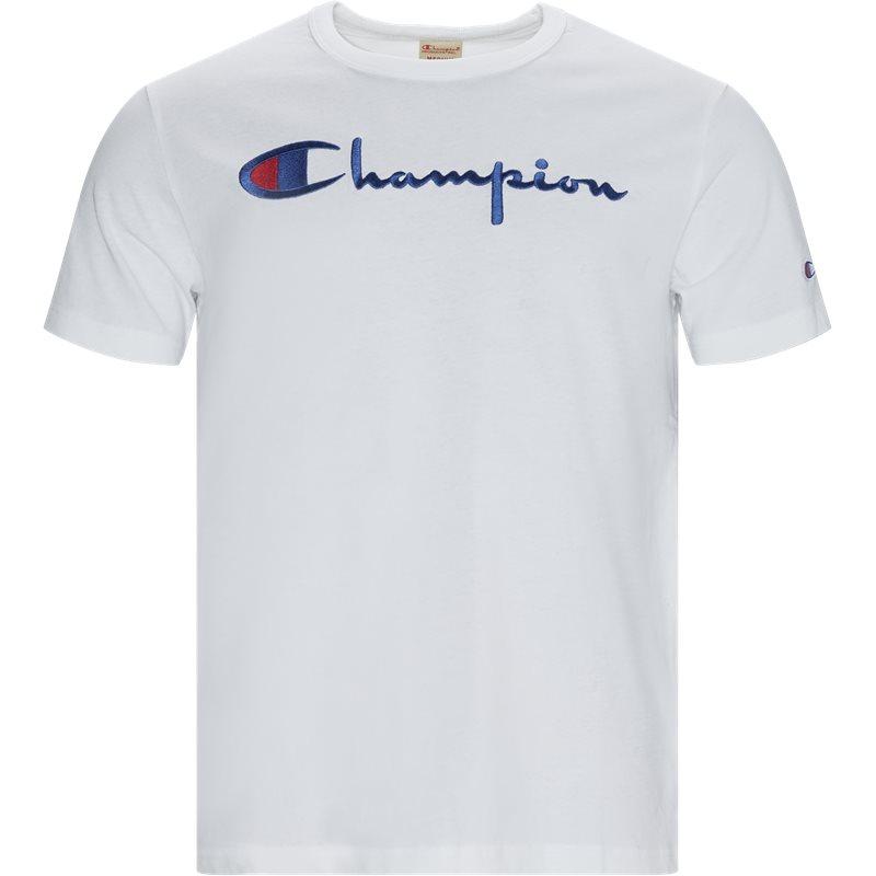 champion – Champion big script tee hvid på quint.dk