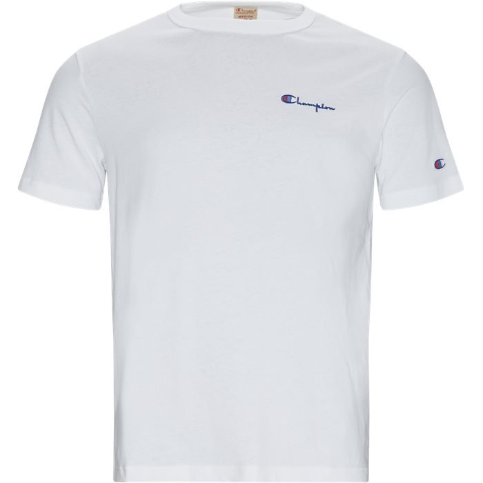 T-shirts - Regular - Vit