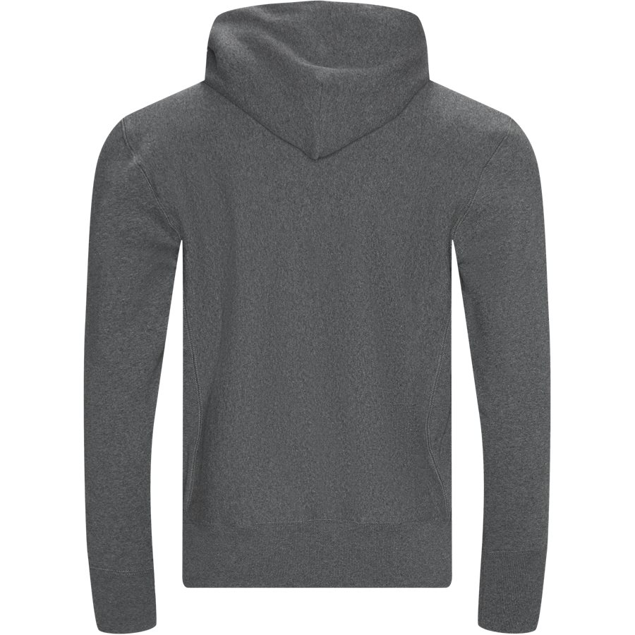 212574 BIG SCRIPT - Big Script Hoodie - Sweatshirts - Regular - KOKS - 2