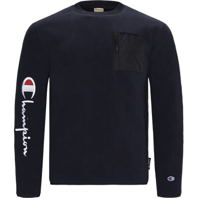 Polar Fleece  Crewneck Sweatshirt Regular | Polar Fleece  Crewneck Sweatshirt | Blå
