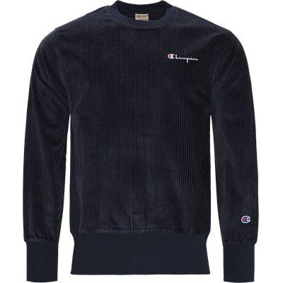 Cordory Crewneck Sweatshirt Regular | Cordory Crewneck Sweatshirt | Blå