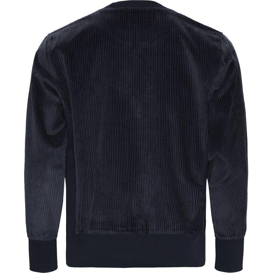 213690 CORDORY CREW - Cordory Crewneck Sweatshirt - Sweatshirts - Regular - NAVY - 2