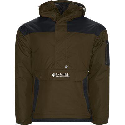 Challenger Pullover Jacket Regular | Challenger Pullover Jacket | Grøn