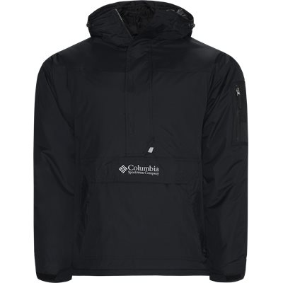 Challenger Pullover Jacket Regular | Challenger Pullover Jacket | Sort