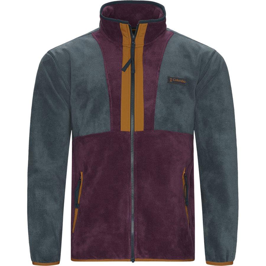 BACK BOWL FLEECE 1872792 - Sweatshirts - BORDEAUX - 1