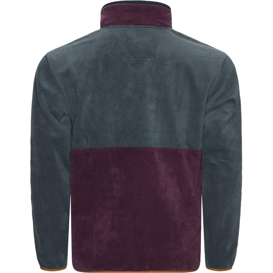 BACK BOWL FLEECE 1872792 - Sweatshirts - BORDEAUX - 2