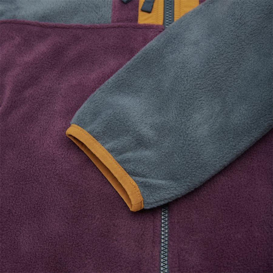 BACK BOWL FLEECE 1872792 - Sweatshirts - BORDEAUX - 4