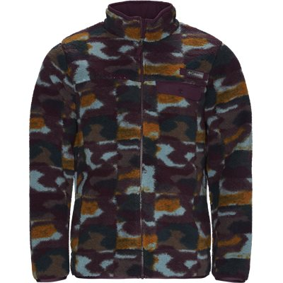 Mountain Side Fleece  Regular | Mountain Side Fleece  | Blå