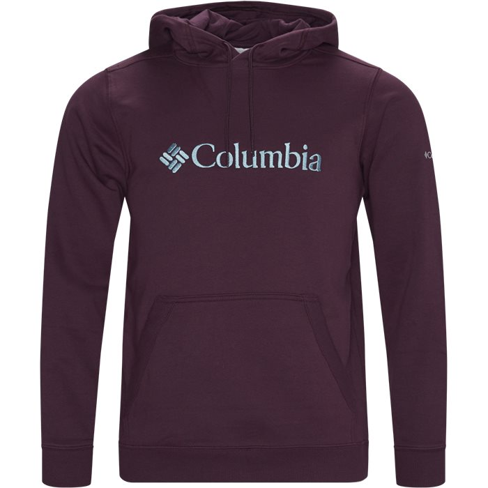 CSC Basic Logo Hoodie - Sweatshirts - Regular - Bordeaux