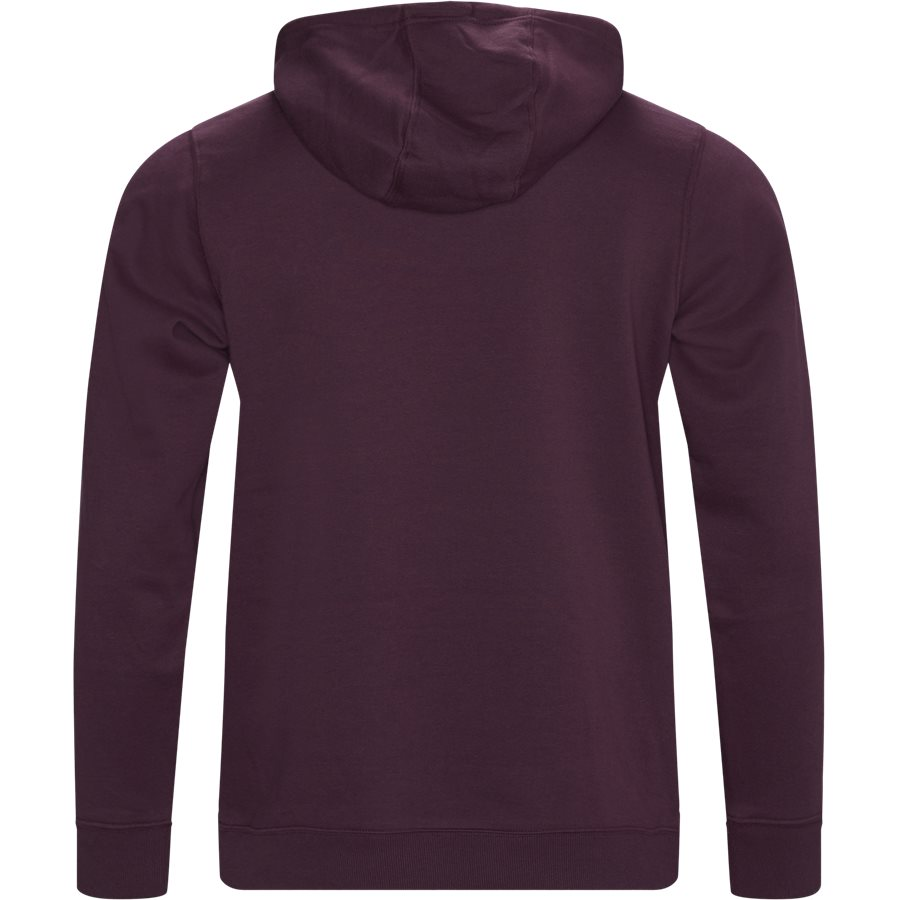 CSC BASIC LOGO HOOD 1681661 - CSC Basic Logo Hoodie - Sweatshirts - Regular - BORDEAUX - 2