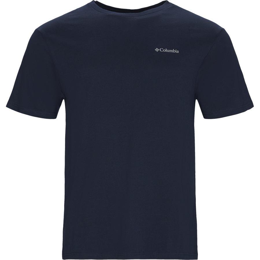 S/S NORTH BOX CASCADES 1834041 - T-shirts - NAVY - 1