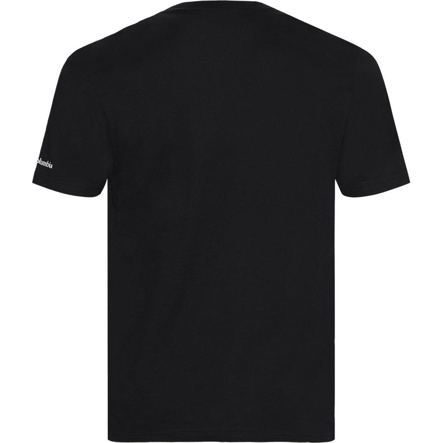 S/S NORTH LOGO CASCADES 1834041 - T-shirts - Regular - SORT - 2