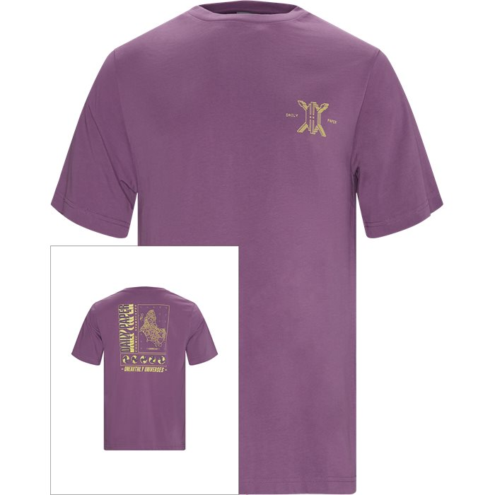 T-shirts - Regular - Lilac