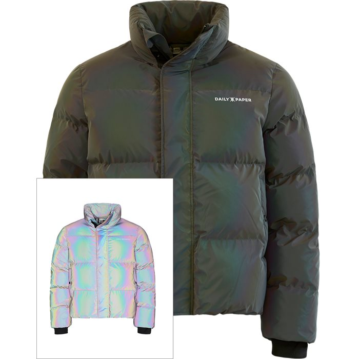 Core Puffer Jacket - Jakker - Regular - Grå