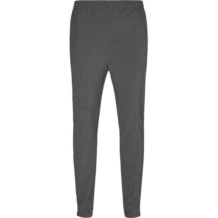 Suit Pant - Bukser - Slim - Grå